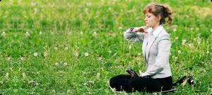 Медитация по Фалуньгун на свежем воздухе