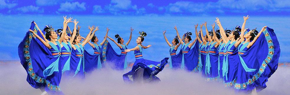 На выступлении творческого коллектива Shen Yun