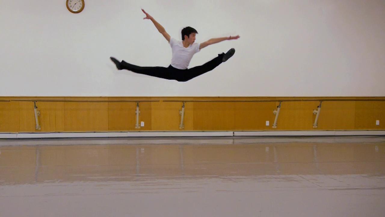 Тренировка танцоров