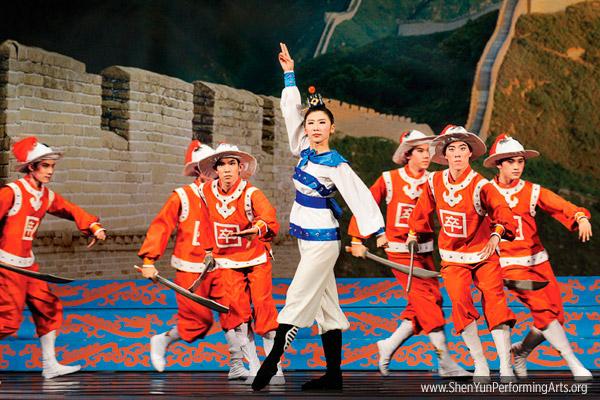 Мишель Жень на выступлениях труппы Shen Yun